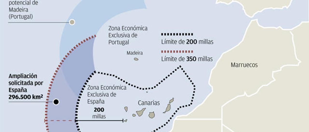 Rabat reclama las aguas saharauis que se incluyen en la zona exclusiva de Canarias