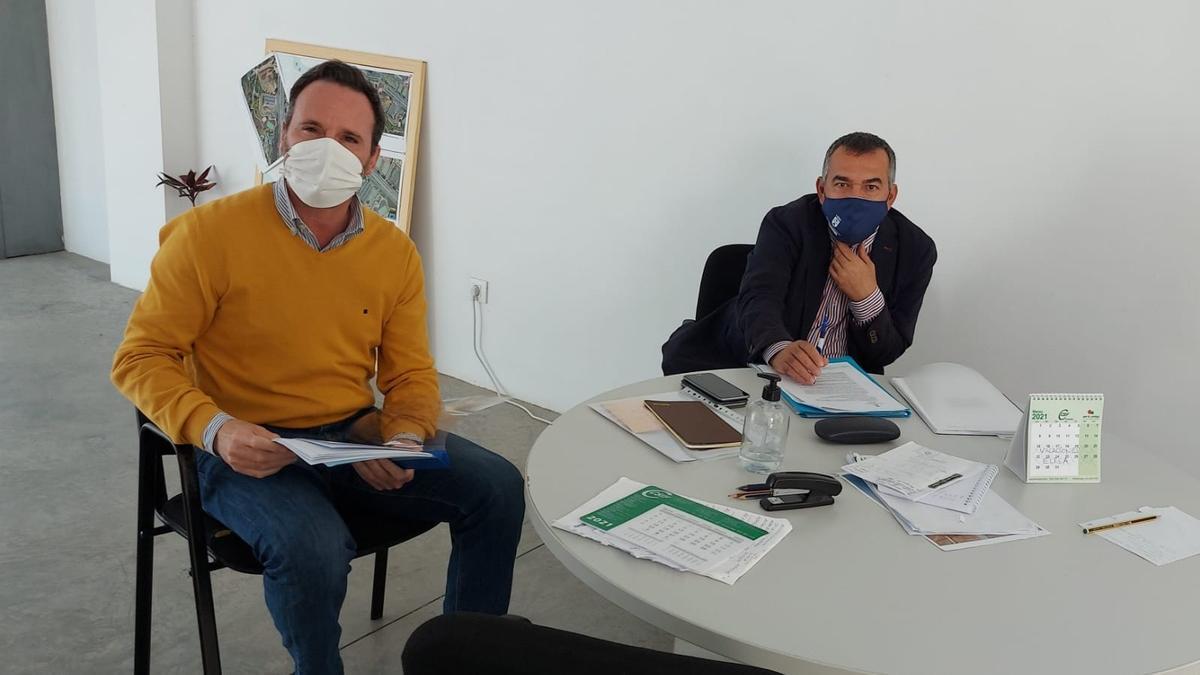 Eloy Santana y Álvaro Monzón trabajan de manera conjunta y coordinada