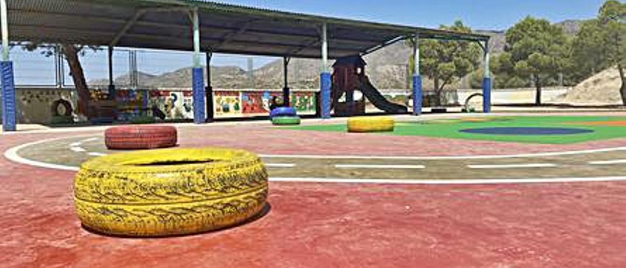 Patio del colegio Mas Magro.  | INFORMACIÓN
