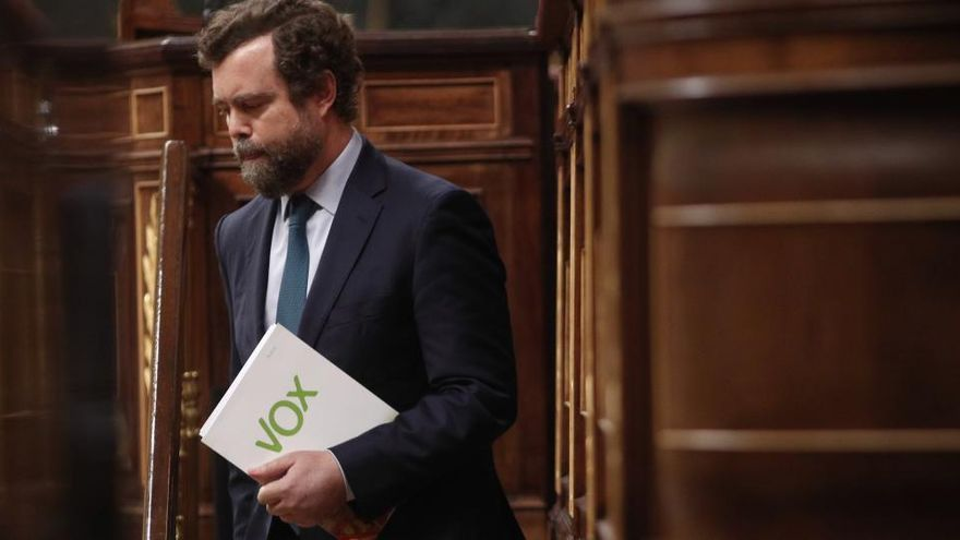 El Congreso deja solo a Vox en su propuesta de ilegalizar partidos independentistas