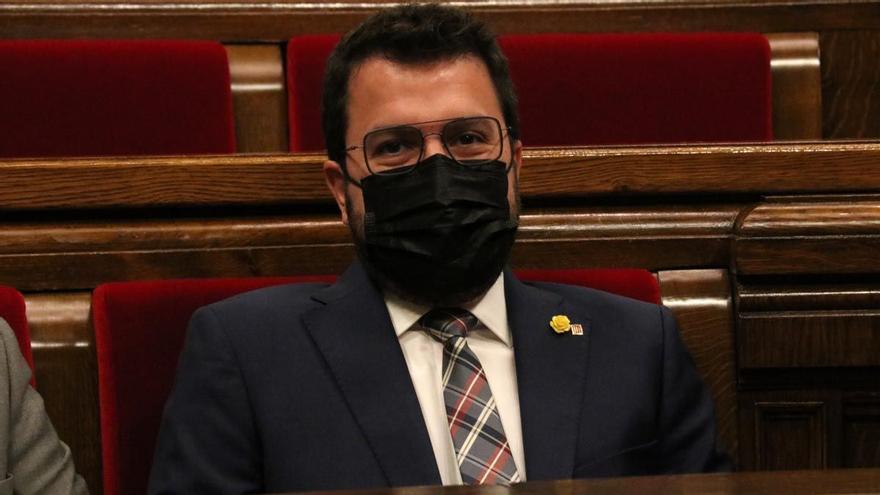 Aragonès defiende al ICF tras las dimisiones por el caso de los avales