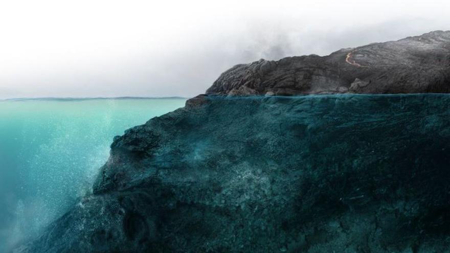 Infografía interactiva del volcán IV