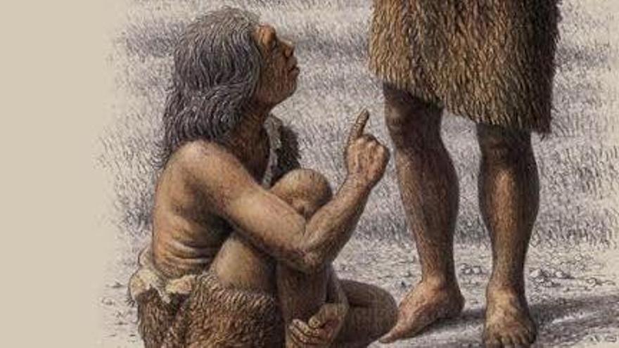 El museu de Moià inaugura l'exposició 'Neanderlife'