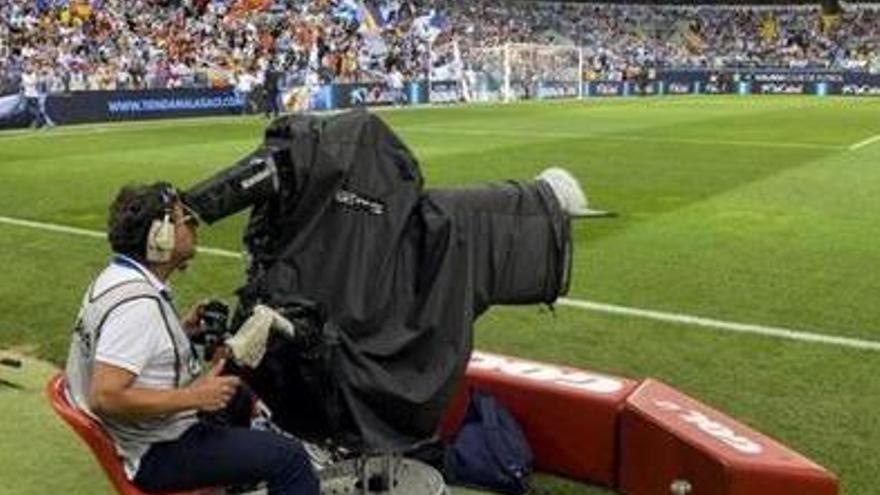 El Málaga recibió 30 millones por derechos de televisión