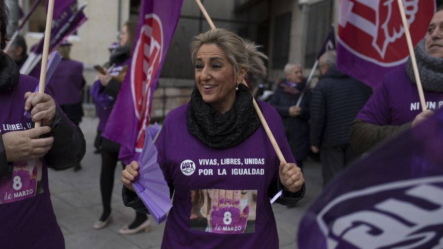 8M en Zamora | Manifestación Sindicatos