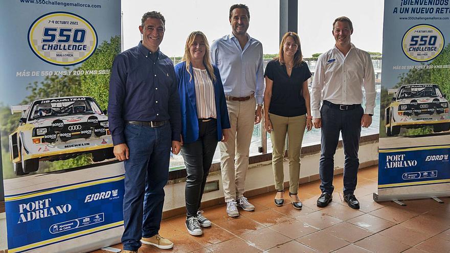 Arranca el rally 550 Challenge Mallorca en Port Adriano