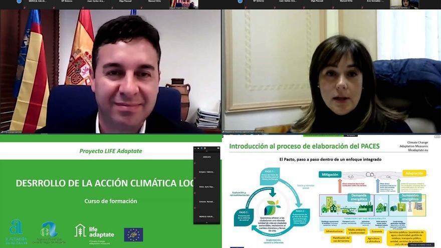 La Diputación colabora con los municipios de la provincia en la redacción de sus planes de adaptación al cambio climático