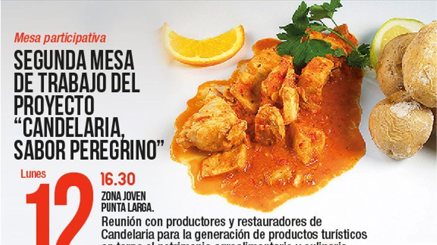 Segunda mesa de trabajo del proyecto 'Candelaria sabor peregrino'