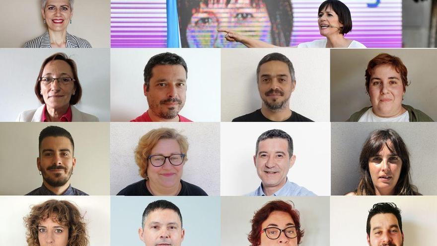 Las trece nuevas caras del BNG en el Parlamento gallego
