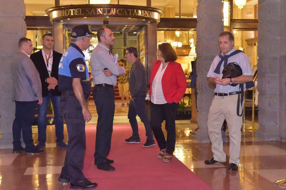 Brad Pitt llega a Gran Canaria