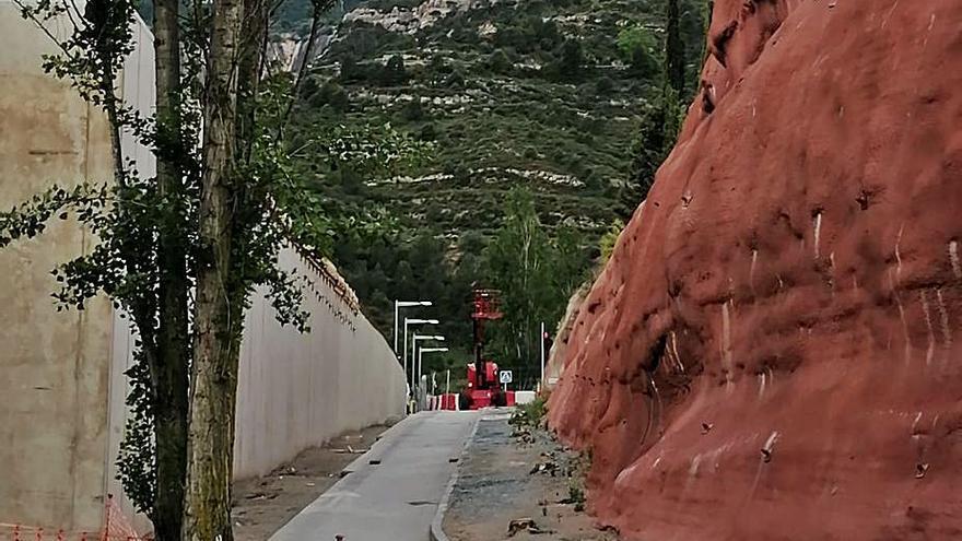 L'estació de Monistrol Vila tindrà una tercera via per a l'operativitat del cremallera