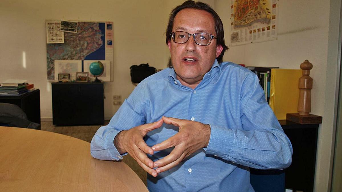 Antoni Llobet és adjunt a direcció de la Fundació Universitària del Bages, FUB-UManresa