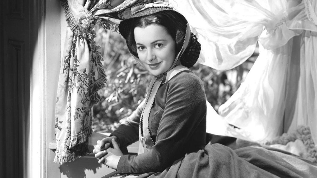 Olivia de Havilland en 'Lo que el viento se llevó'.
