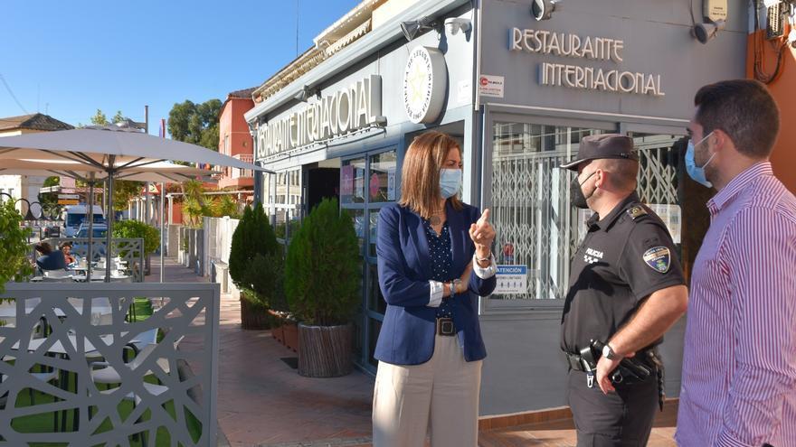 Archena mantendrá la ampliación de terrazas de los negocios de hostelería