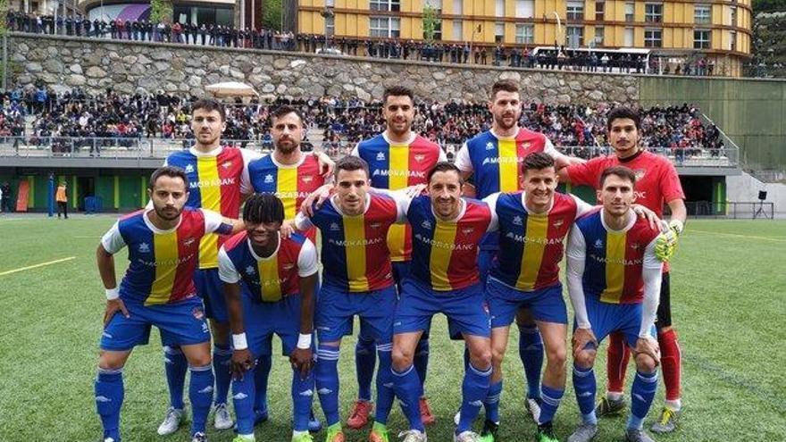 El Andorra de Piqué logra el ascenso a Tercera División