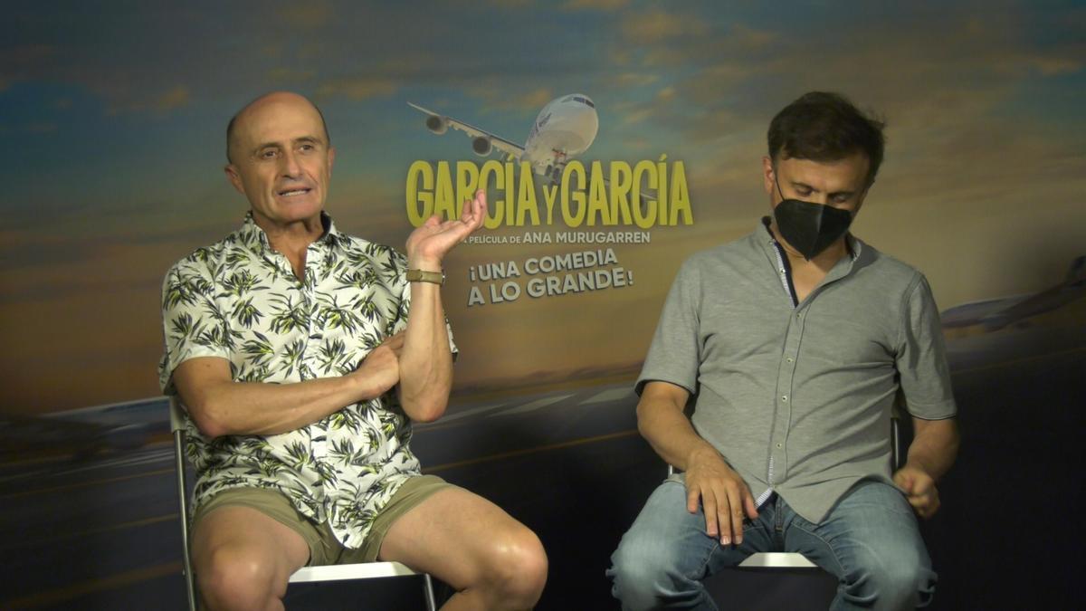 Pepe Viyuela y José Mota.