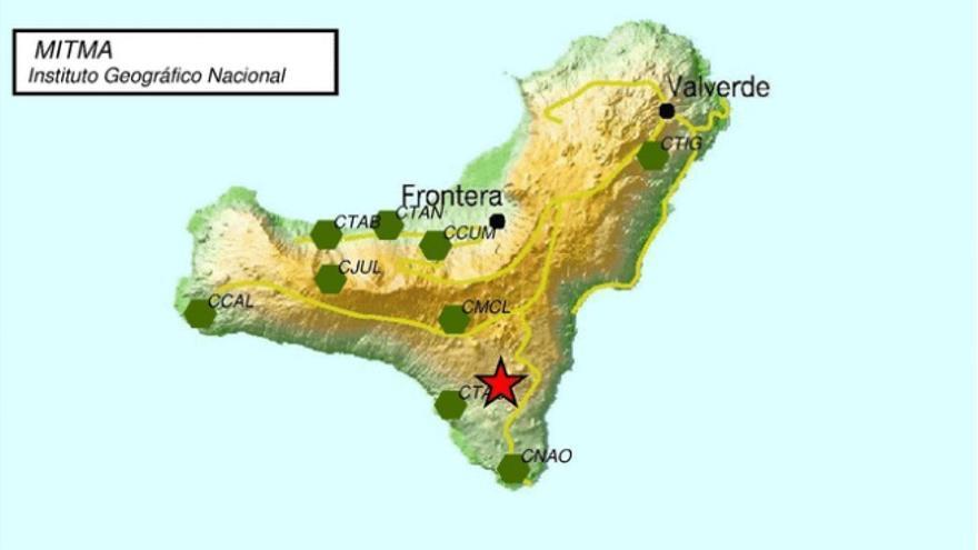 Un terremoto 'despierta' a El Hierro