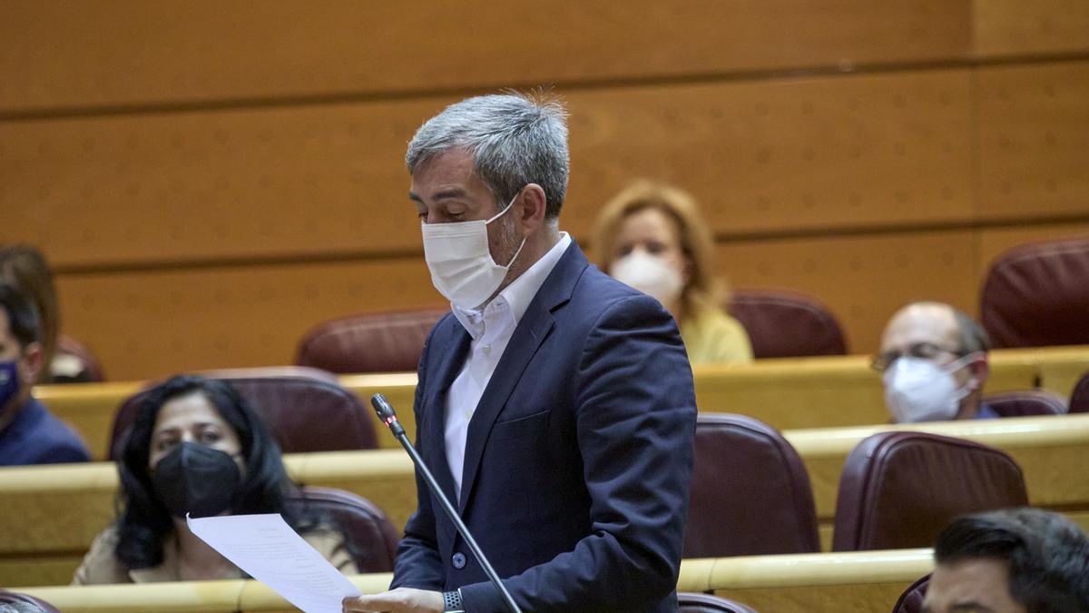 El senador de Coalición Canaria Fernando Clavijo Batlle