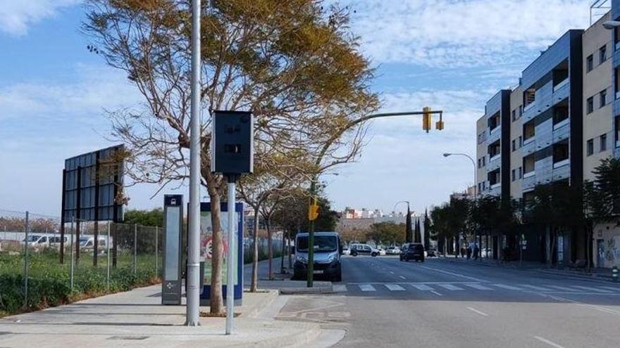 Drei neue feste Radarfallen in Palma de Mallorca