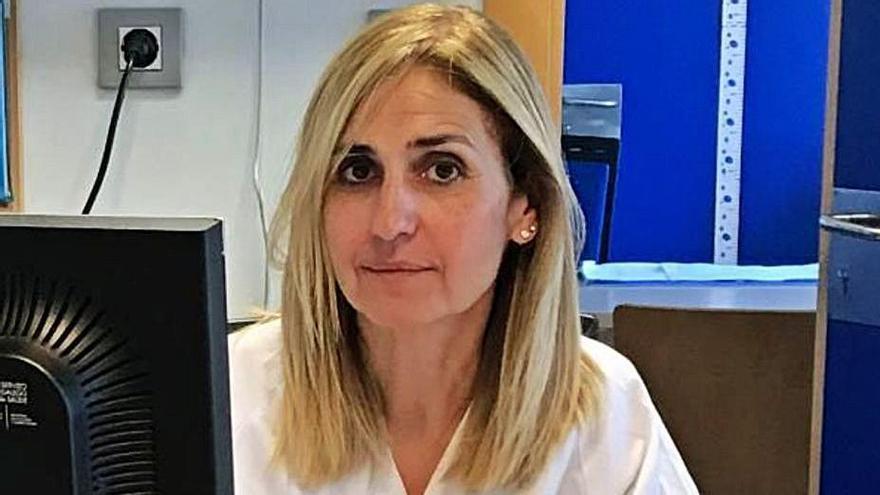 La pediatra Amparo Rodríguez.