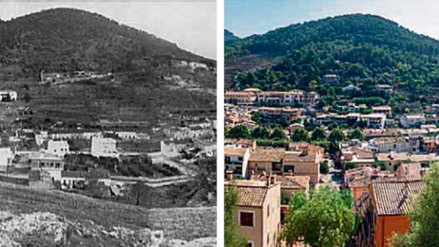 Foto-Slider: So sah Mallorca früher aus - und so heute