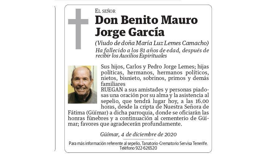 Benito Mauro Jorge García