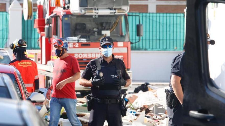 Fallece una anciana en una explosión de gas en una vivienda de Vélez-Málaga