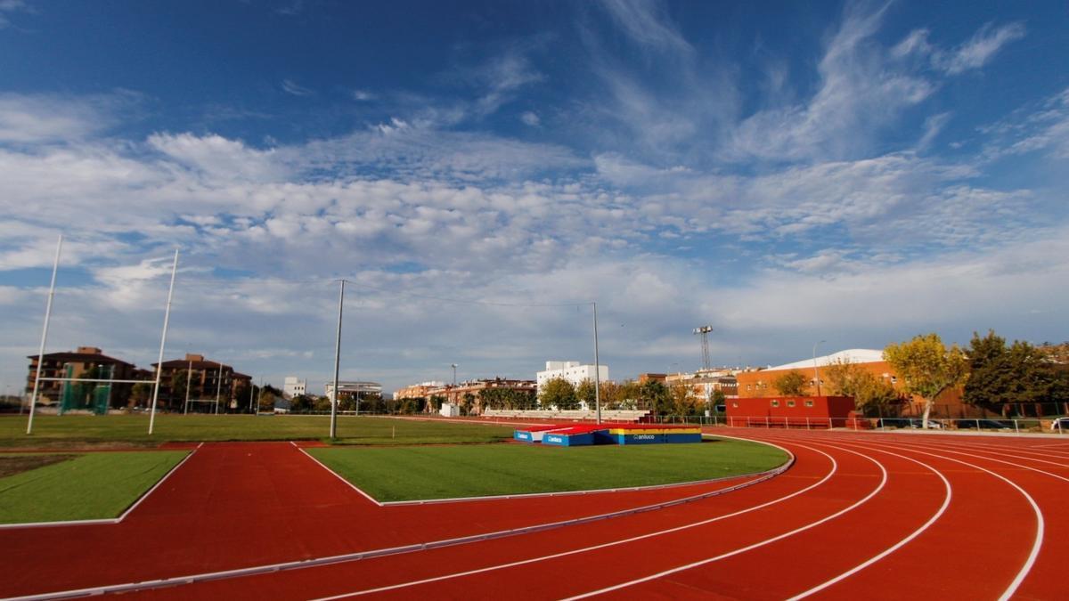 Pistas de atletismo del complejo Diocles.