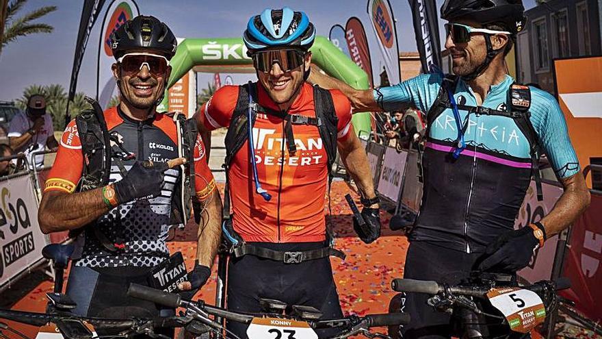 Tercer lloc final de Guillem Muñoz a la Titan Desert