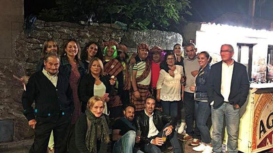 Castro de Alcañices despide las fiestas con la final de la tajuela y un concurso de carretillas