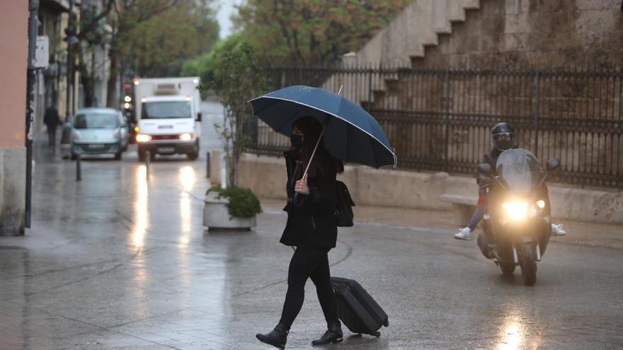 Un marzo húmedo  y frío finaliza  con un 28 %  más de lluvias