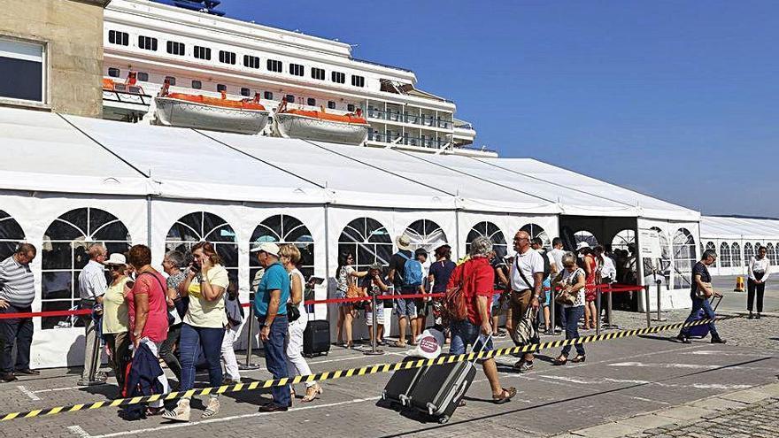 La única naviera de cruceros que embarca pasajeros en Vigo presenta concurso de acreedores