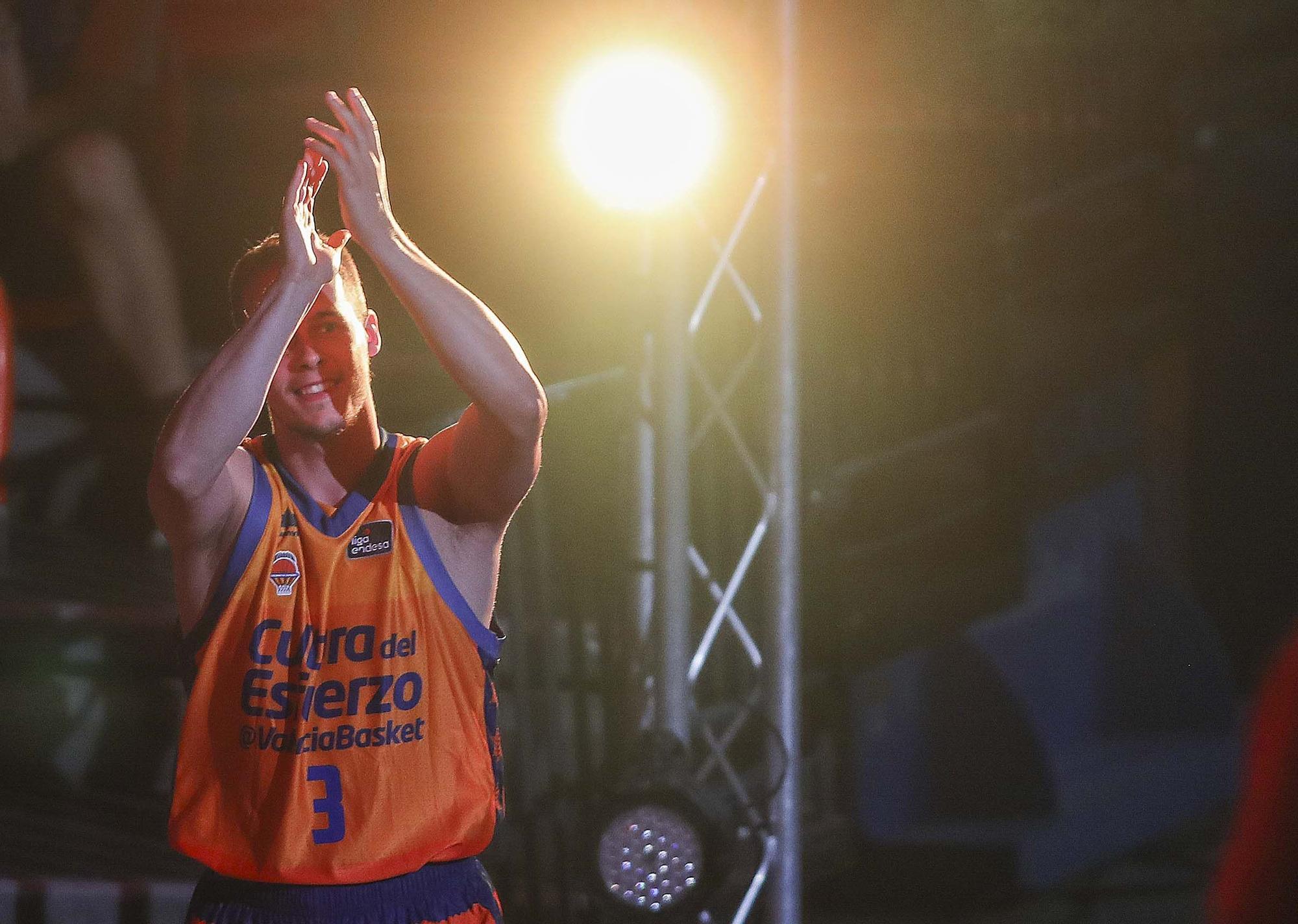 La espectacular presentación del Valencia Basket