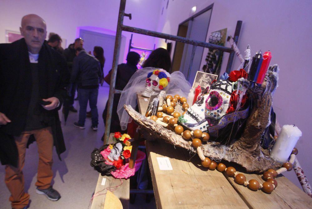 Els artistes inauguren el festival Pepe Sales