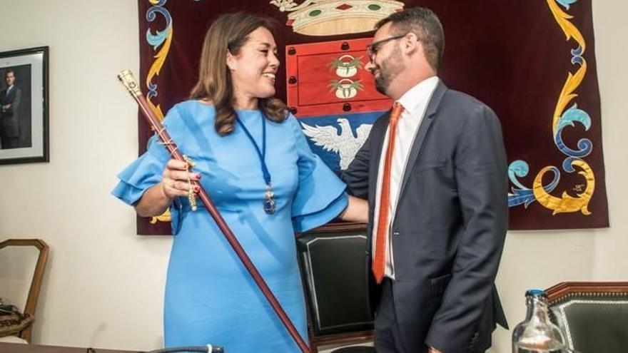 Astrid Pérez, reelegida presidenta del PP de Lanzarote