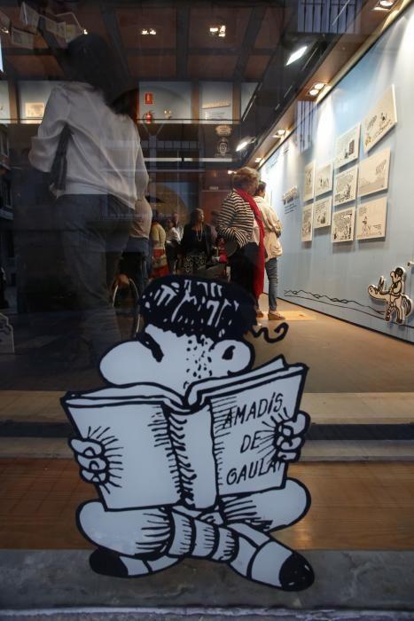 Exposición de Forges en el palacio de Valdecarzana
