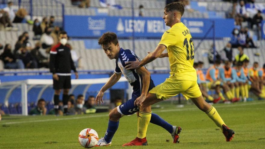 El Villarreal B va como un auténtico tiro: 0-1 en Sabadell