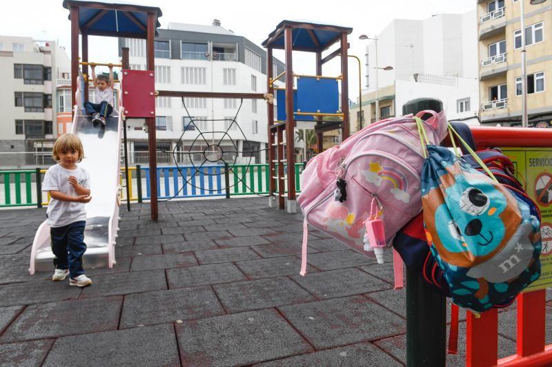 Parques infantiles de la ciudad tras su reapertura.