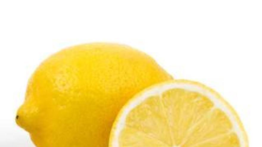 Los limones, a falta de riego, dependen de las lluvias de noviembre para coger tamaño