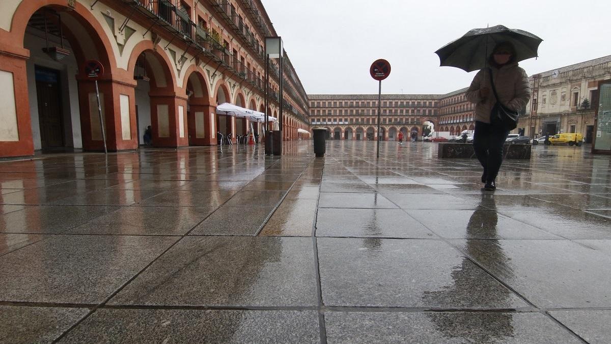 El tiempo en Córdoba: jornada lluviosa con temperaturas mínimas en descenso