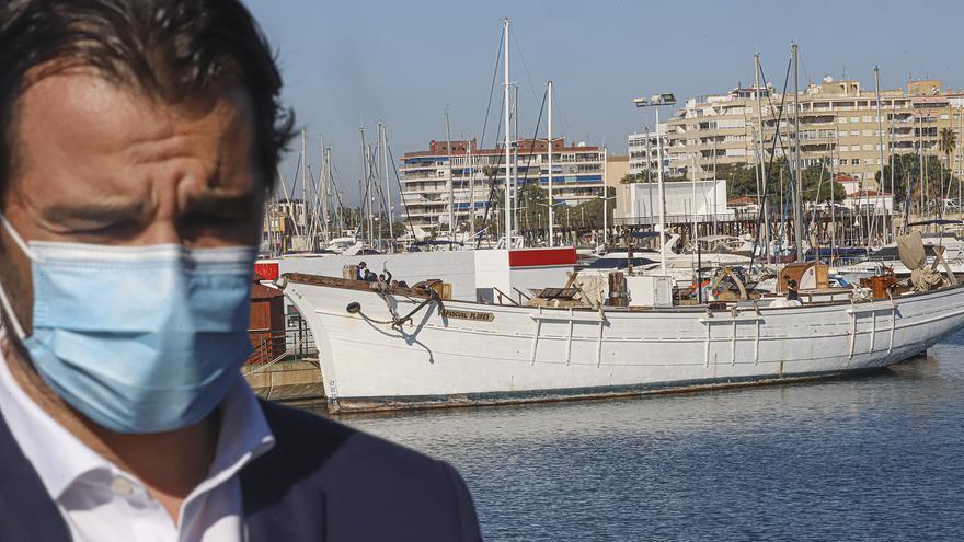 Torrevieja cede a la Fundación Nao el pailebote Pascual Flores para repararlo y promover la ciudad en ferias marítimas