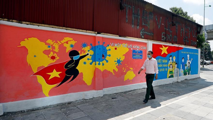 Vietnam cuadriplica en un día su número de casos de covid-19 de todo 2020