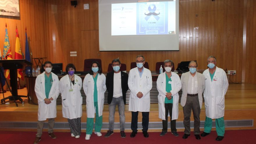 El Hospital General interviene al año a más de 70 pacientes con cáncer de próstata mediante cirugía en 3D
