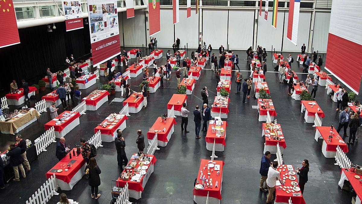 Actividad ferial realizada en Expocoruña durante el año pasado. |   // M. MIRAMONTES/ROLLER AGENCIA