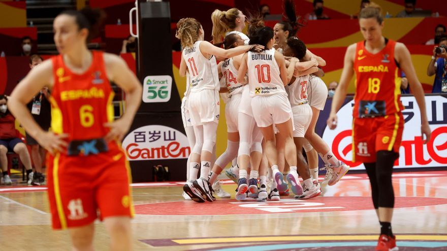 España cae ante Serbia en la prórroga y se despide del Eurobasket
