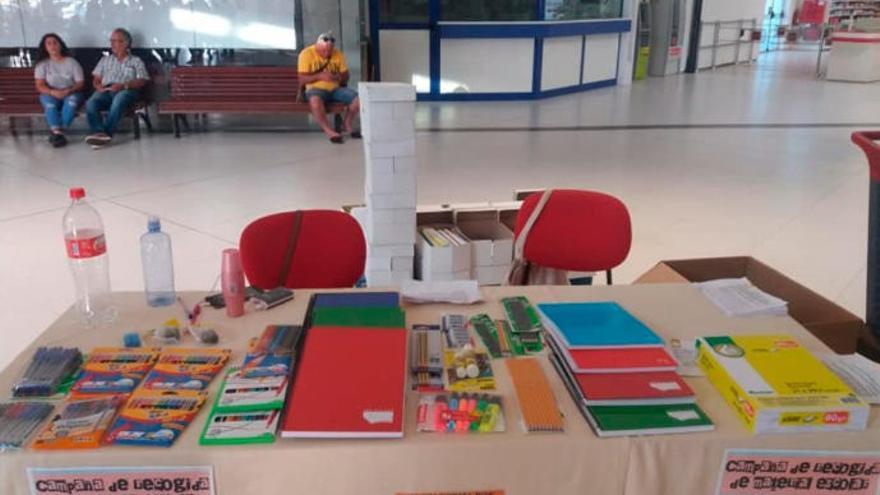 Un colectivo social inicia una campaña para donar material a escolares de Telde