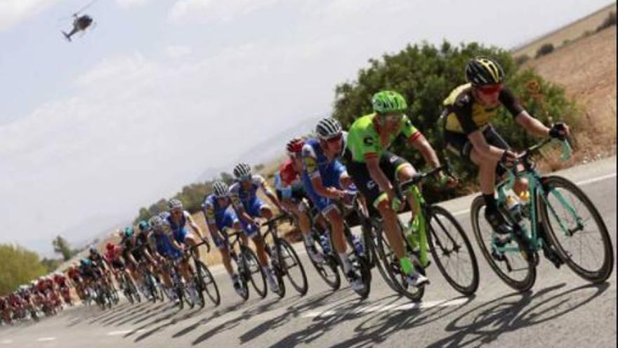 La plaza Al-Ándalus y Pepe El Boticario acogerán la meta de la décima etapa de La Vuelta ciclista a España en Rincón