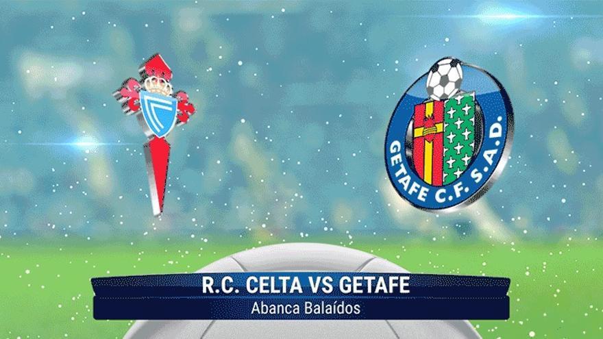 Celta - Getafe, en directo