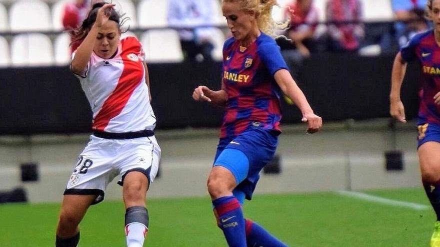 La futbolista santfruitosenca Paula Fernández renova per un any amb el Rayo Vallecano