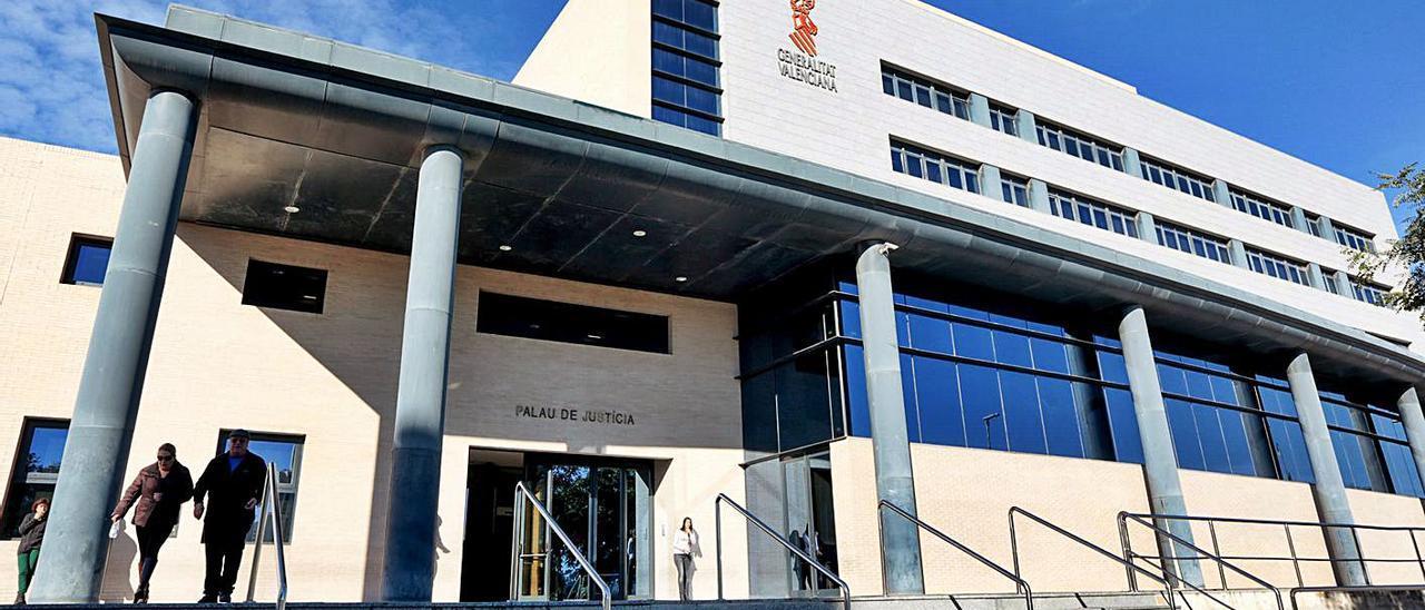 Palacio de Justicia de Benidorm, donde se han analizado los hechos.